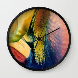 Inside The Iris Wall Clock
