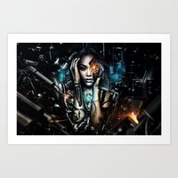 Android Production Art Print