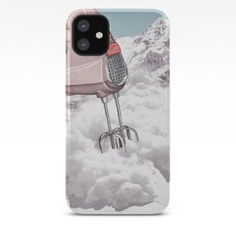 Doris Whisker II - Avalanche whipped cream iPhone Case