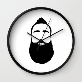 Fear the Beard Wall Clock