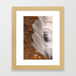 Tolliver Falls Close-up Framed Art Print