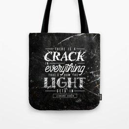 Crack Tote Bag