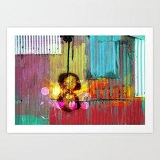 Urban Grunge Art Print