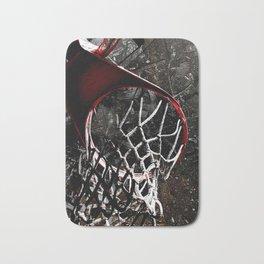 Basketball jam session version 1 Bath Mat