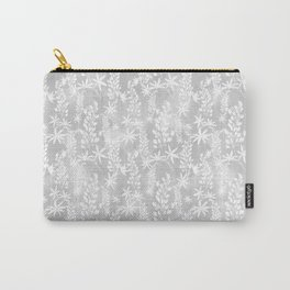 Winter patterns on the window. Carry-All Pouch
