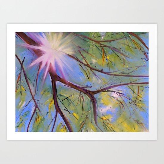 Sun Star Art Print