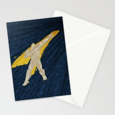 Grabbing Memories (Homage to Abel from Street Fighter) Stationery Cards
