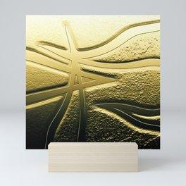 Veins of Gold Mini Art Print