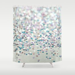 NICE NEIGHBOURS - GLITTER PHOTOGRAPHY Shower Curtain