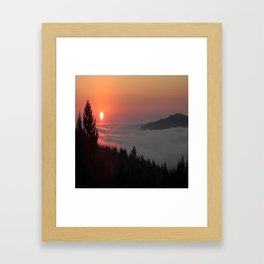 Breathe deep... Framed Art Print