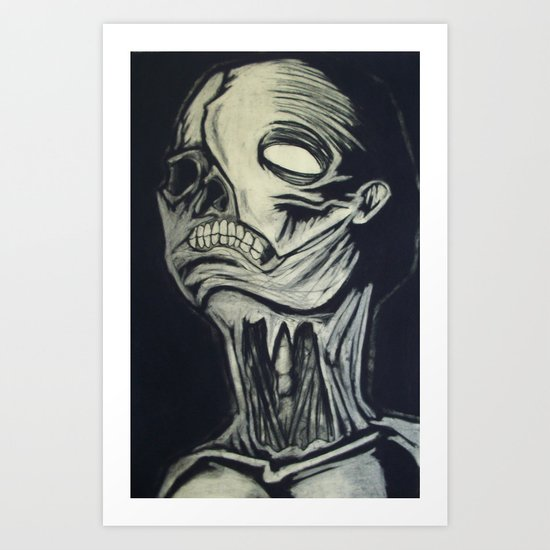 Phantom of the Undead Art Print