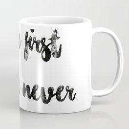 Coffee first people never Coffee Mug