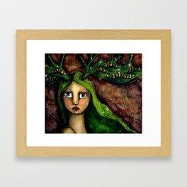 Korina Framed Art Print