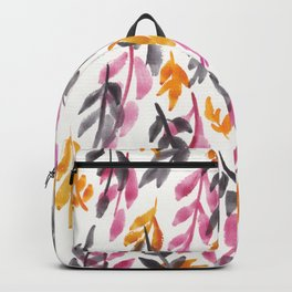 180726 Abstract Leaves Botanical 15|Botanical Illustrations Backpack