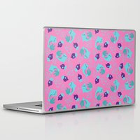 dolphins Laptop & iPad Skins featuring dolphins by lindseyclare