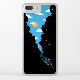 Skydiver Clear iPhone Case