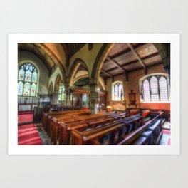 St Peter And St Paul Church Headcorn Kent Art Print