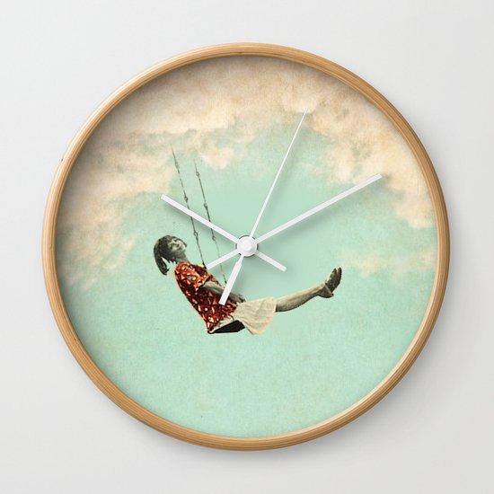 Mary's Breath of Heaven Wall Clock