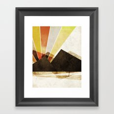 Unclaimed Mountain #2 Framed Art Print
