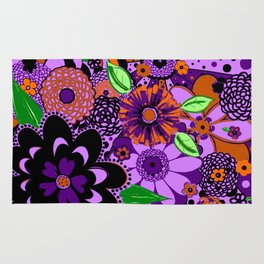 Flowers To Go Rug