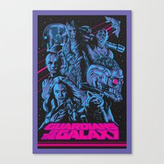 Guardians of the Galaxy NEON Canvas Print