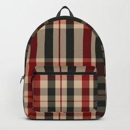 UJ Tartan Plaid Backpack