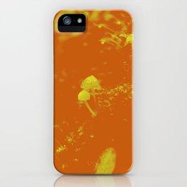 chlorine mushroom iPhone Case