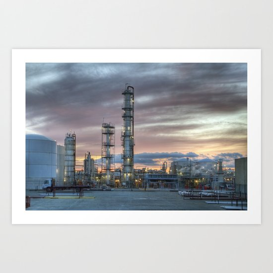 Industrial 5  Art Print