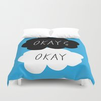 okay Duvet Covers featuring Okay? Okay by Lola