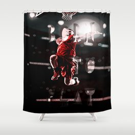 born to play Shower Curtain