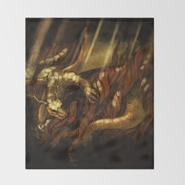 Nidhogg Throw Blanket