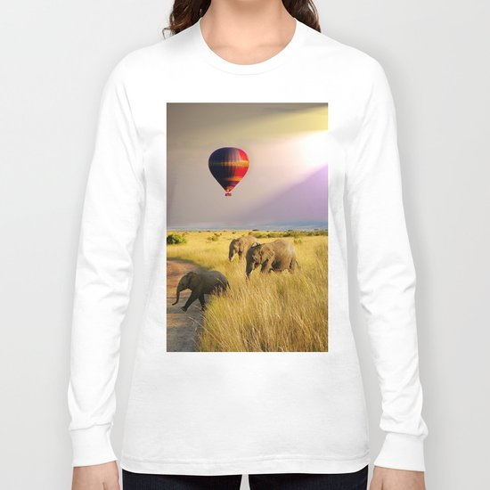 safari life Long Sleeve T-shirt