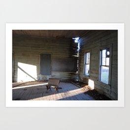 schoolhouse Art Print