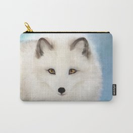 Inquisitive Arctic Fox Carry-All Pouch