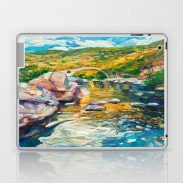 Bridge in the mountains Laptop & iPad Skin
