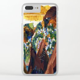 Faraway Place III Clear iPhone Case