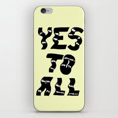Yes to All iPhone & iPod Skin