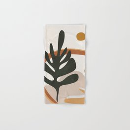 Abstract Plant Life I Hand & Bath Towel