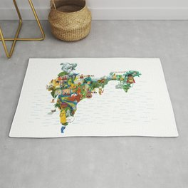 India my love Rug