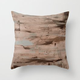 A touch of pale blue Throw Pillow