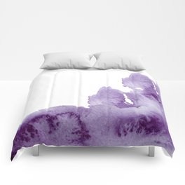 Summer in the provence - lavender fields Comforters