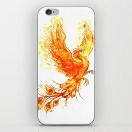 Fiery Phoenix  iPhone Skin