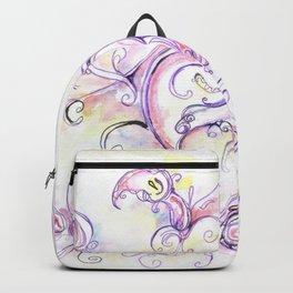 Purple calla lilies Backpack