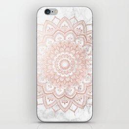 Pleasure Rose Gold iPhone Skin