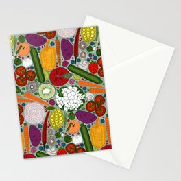 the good stuff mint Stationery Cards