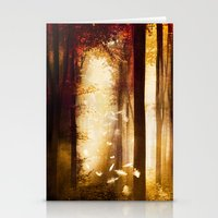 dreams Stationery Cards featuring Dreams by Viviana Gonzalez