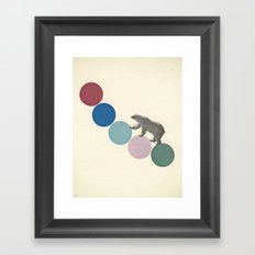 High Climber Framed Art Print