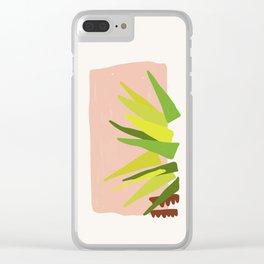 Geometric Palm Clear iPhone Case