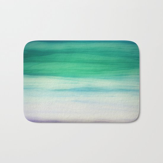 Sea abstract Bath Mat
