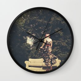 Room(s) With a View Wall Clock